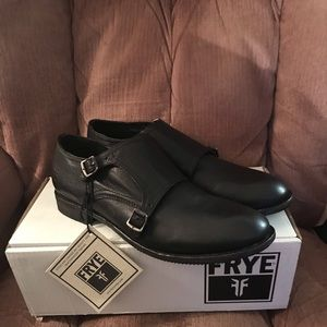 Frye Ethan Double Monk New with Tags and Box